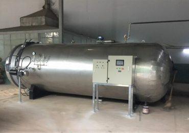 Hệ thống hấp khử trùng rác y tế công suất 4 tấn/ngày